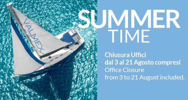 Summer Time Chiusura/Closure